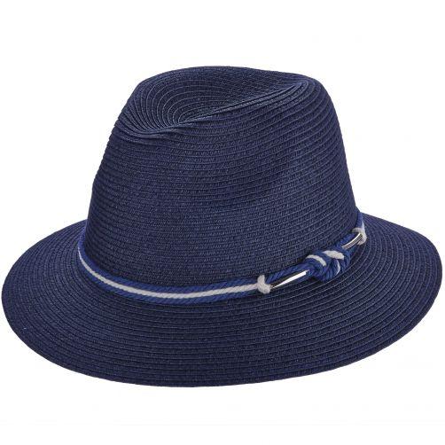 Safari-Hut-für-Damen-von-Callanan---blau