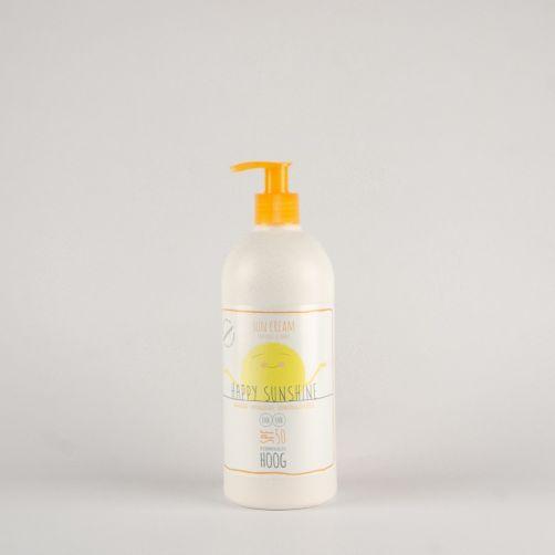 Happy Sunshine - Sonnencreme SPF50+ - 500 ml - Vorderseite