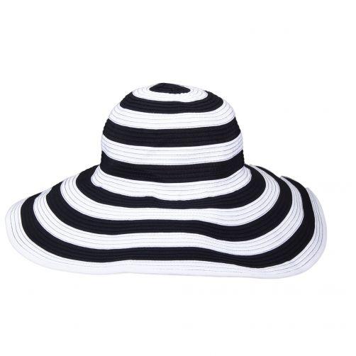 Scala---UV-Hut-für-Damen---schwarz/weiß
