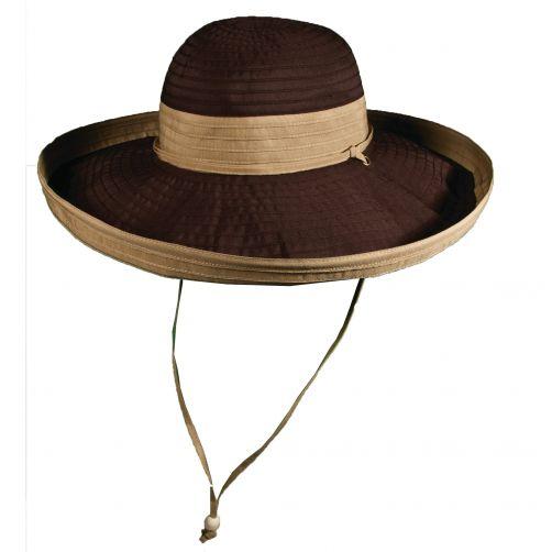 Scala---UV-Hut-für-Damen---Chocolade