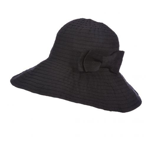 Scala---Aufrollbarer-Hut-für-Damen---schwarz