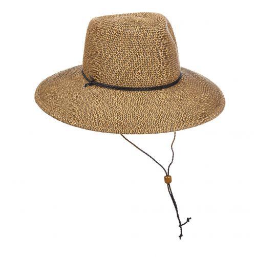 Scala---UV-geflochtender-Hut-für-Damen-von-Scala---Kaffee