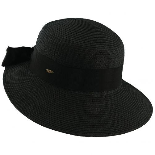 Scala---UV-Hut-geflochten-für-Damen---schwarz