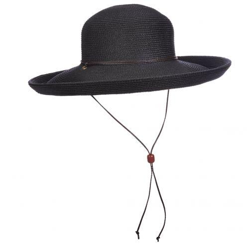 Scala---Hut-mit-Kordel-für-Damen---schwarz