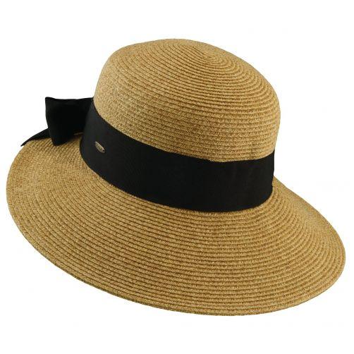 Scala---UV-Hut-geflochten-für-Damen---Tee