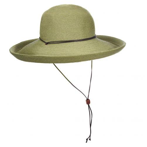 Scala---Hut-mit-Kordel-für-Damen---Olive