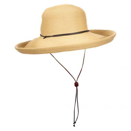 Scala---Hut-mit-Kordel-für-Damen---natur