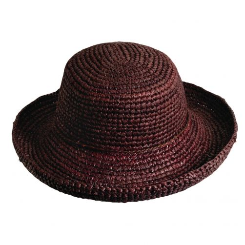 Scala---Hut-für-Damen---Chocolade