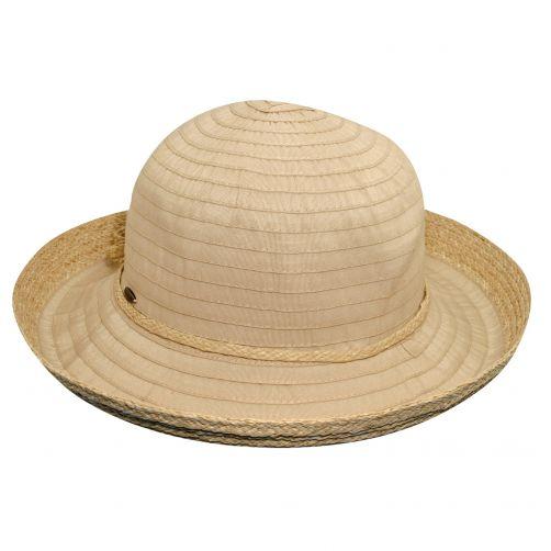 Scala---UV-Hut-mit-Band-für-Damen---natur