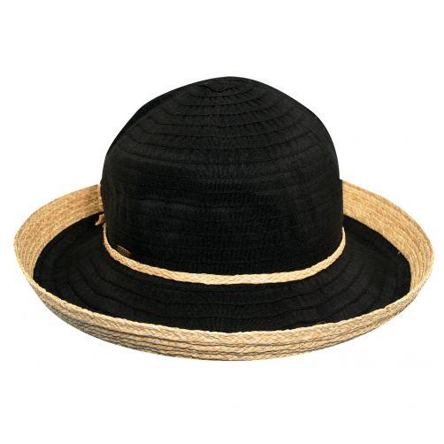 Scala---UV-Hut-mit-Band-für-Damen---schwarz