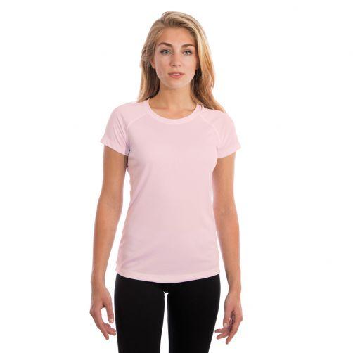 Vapor-Apparel---UV-Shirt-kurzärmlig-für-Damen---Rosa-Blüte