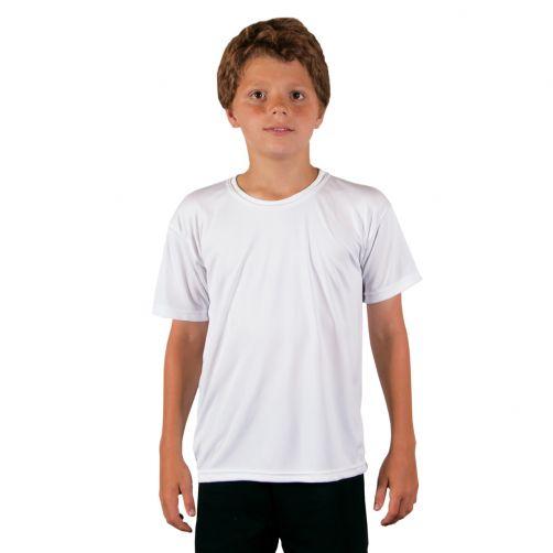 Vapor-Apparel---UV-Shirt-mit-kurzen-Ärmeln-für-Kinder---Weiß