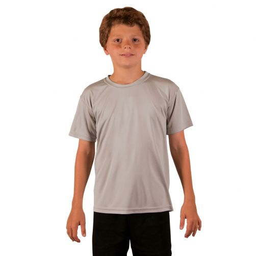 Vapor-Apparel---UV-Shirt-kurzärmlig-für-Kinder---Grau