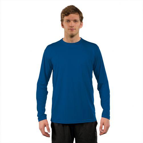 Vapor-Apparel---UV-Shirt-langärmlig-für-Herren---Blau