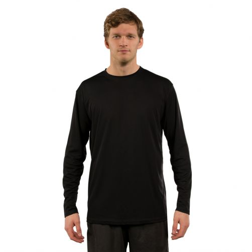 Vapor-Apparel---UV-Shirt-langärmlig-für-Herren---Schwarz