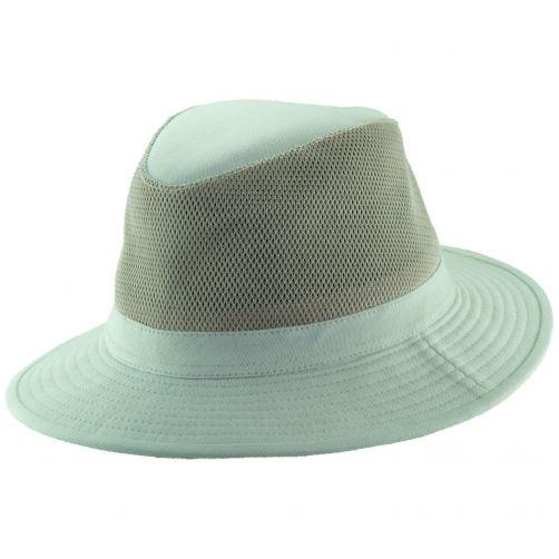 Dorfman-Pacific---Safari-Baumwolle-Hut-für-Herren---Altweiß