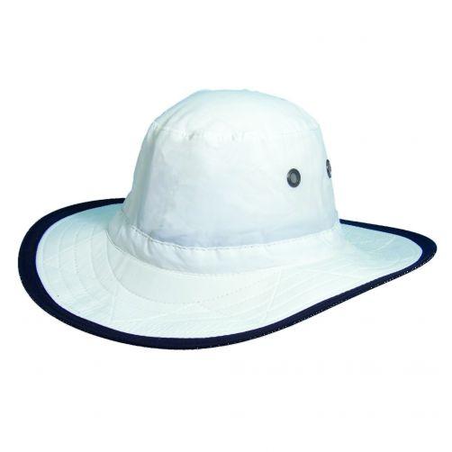 Dorfman-Pacific---UV-Schutz-Outdoor-Hut-für-Herren---Weiß