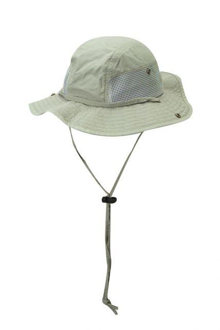 Dorfman-Pacific---UV-Schutz-Anglermütze-für-Herren---Kaki