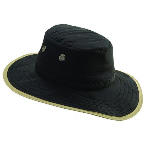 Dorfman-Pacific---UV-Schutz-Outdoor-Hut-für-Herren---Schwarz