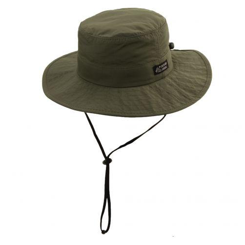 Dorfman-Pacific---UV-Schutz-Hut-für-Herren-verstellbar---Olive