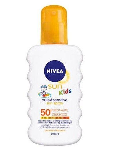 Nivea---UV-Sonnenspray-für-Kinder---Sun-Kids-Protect-&-Sensitive-SPF50