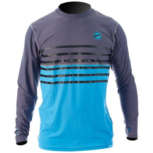 Prolimit---UV-Shirt-für-Herren---Grau-/-Cyan