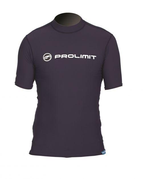 Prolimit---UV-Badeshirt-für-Herren---kurzärmlig---Schwarz