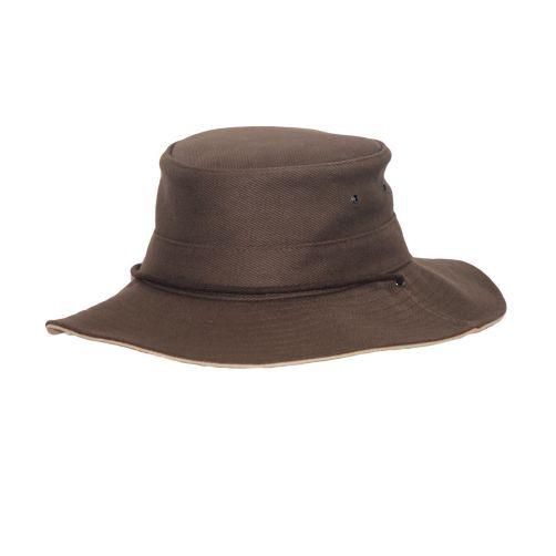 Rigon---UV-Booniehut-für-Herren---Braun-/-Beige