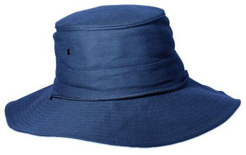 Rigon---UV-Booniehut-für-Herren---Blau-/-Dunkelgrau