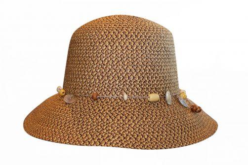 Rigon---UV-Bucket-Hut-für-Damen---Hellbraun-/-Dunkelbraun