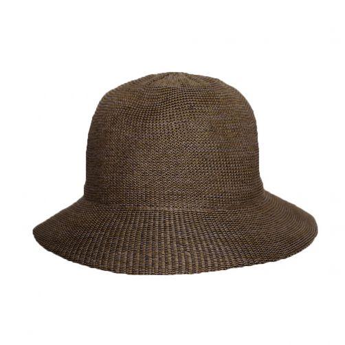 Rigon---Bucket-Hut-für-Damen---Mittelbraun