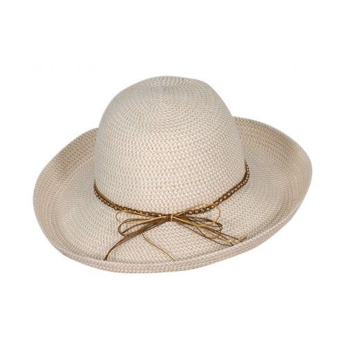 Rigon---UV-Fedorahut-für-Damen---Elfenbein-/-Natur