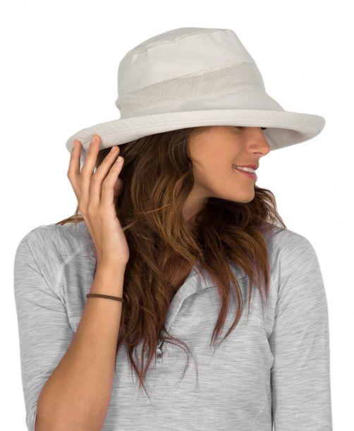 Rigon---UV-Sonnenhut-für-Damen---Belüftend---Weiß