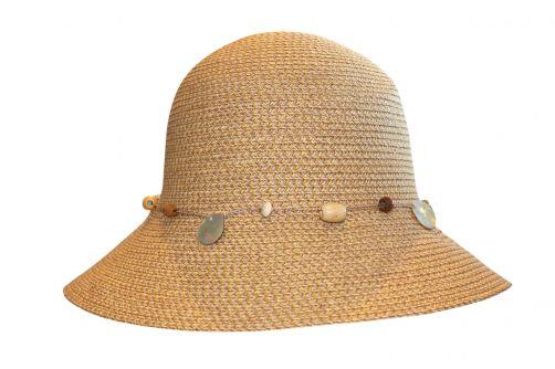 Rigon---UV-Bucket-Hut-für-Damen---Natur-Meliert