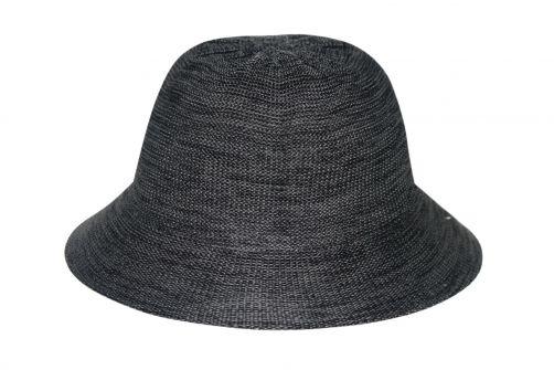 Rigon---Bucket-Hut-für-Damen---Schwarz-Meliert