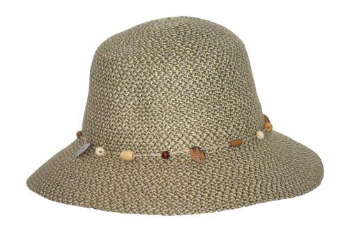 Rigon---UV-Bucket-Hut-für-Damen---Hellgrün-Meliert
