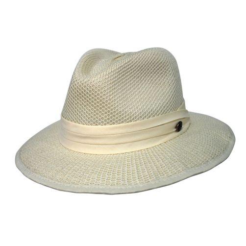 Rigon---UV-Fedorahut-für-Herren---Mandalay---Cremeweiß