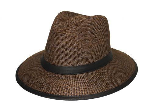 Rigon---UV-Fedorahut-für-Herren---Joel---Mittelbraun