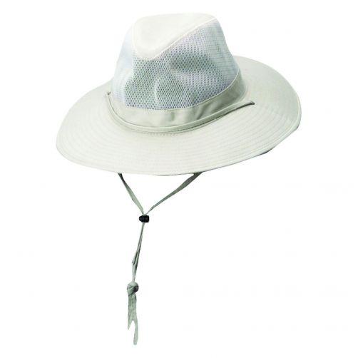 Dorfman-Pacific---Safari-Hut-von-Solarweave-für-Herren---Beige