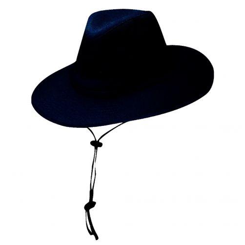 Dorfman-Pacific---Safari-Hut-von-Solarweave-für-Herren---Blau