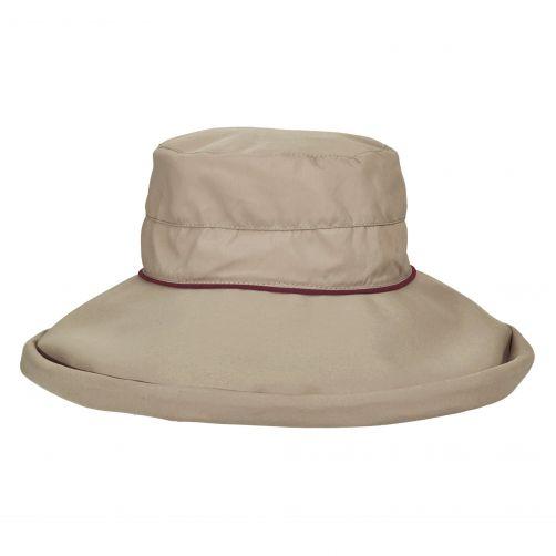 Stetson---UV-Hut-mit-großem-Rand-für-Damen---Bucket---lila