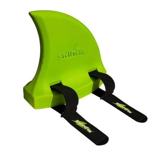 SwimFin---Größenverstellbare-Schwimmhilfe---Grün