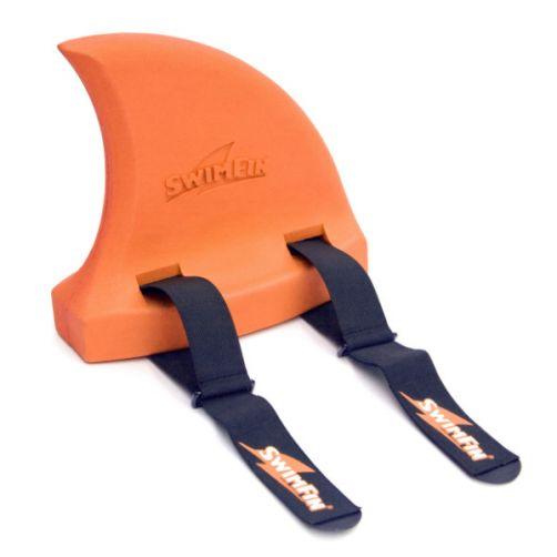 SwimFin---Größenverstellbare-Schwimmhilfe---Orange