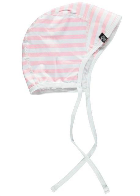 Beach-&-Bandits---UV-Mütze-für-Mädchen---Beach-Girl---Weiß/Rosa