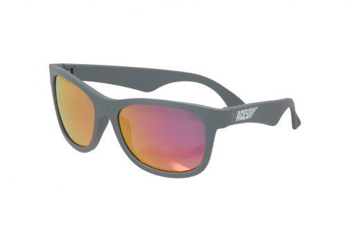 Babiators---UV-Sonnenbrille-für-Kinder---Aces---Grau-/-Pink