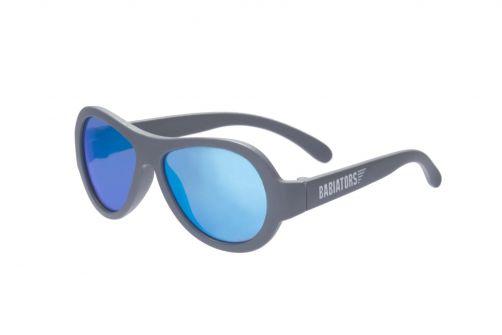 Babiators---UV-Sonnenbrille-für-Kinder--Aviators---Blau-/-Grau