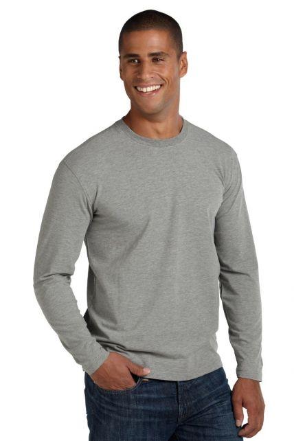 Coolibar---UV-Shirt-für-Herren---Langärmlig---Morada---Grau