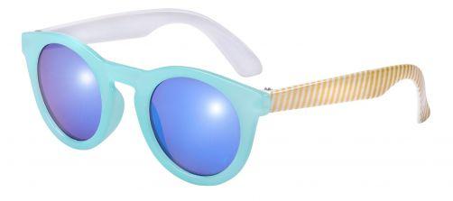 Frankie-Ray---UV-Sonnenbrille-für-Kinder---Candy---Türkis/Gold