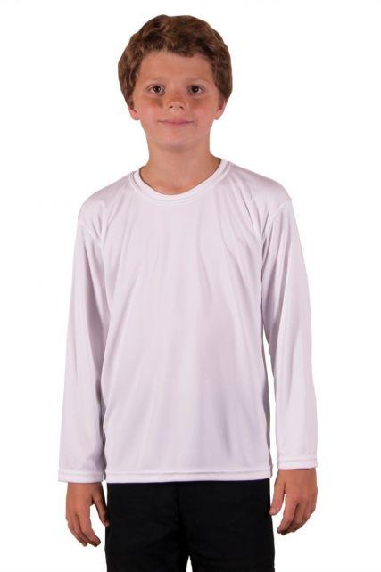 Vapor-Apparel---UV-Shirt-langärmlig-für-Kinder---Weiß