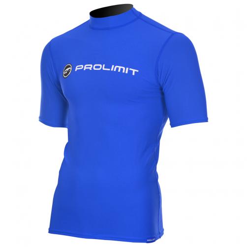 Prolimit---UV-Badeshirt-für-Herren---kurzärmlig---Royal-Blau